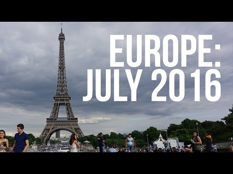 London, Paris, Rome: July 2016