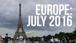 London, Paris, Rome: July 2016