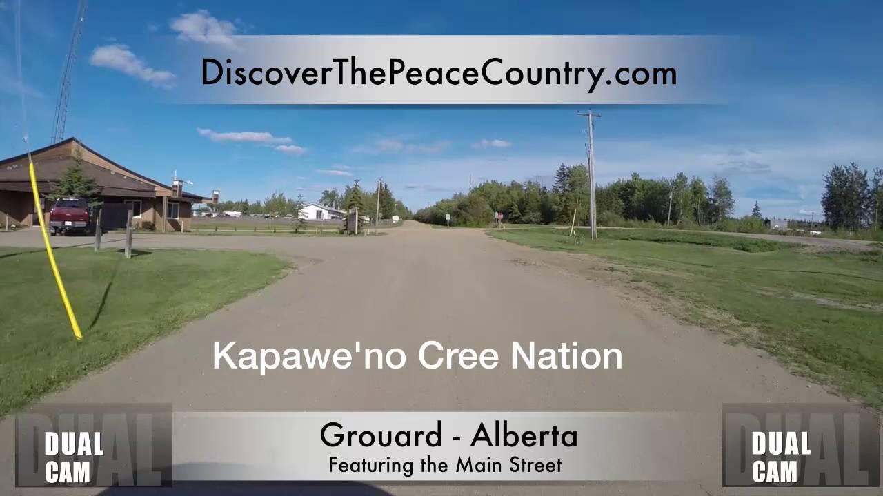 Grouard Alberta - MAINSTREET - DUAL CAM VIDEO - YouTube