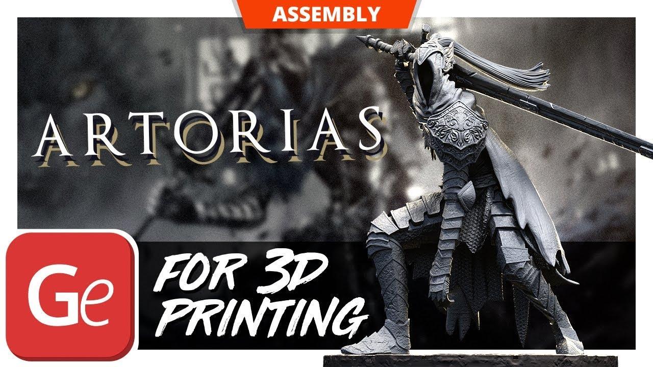Artorias 3D Printing Figurine | Assembly by Gambody