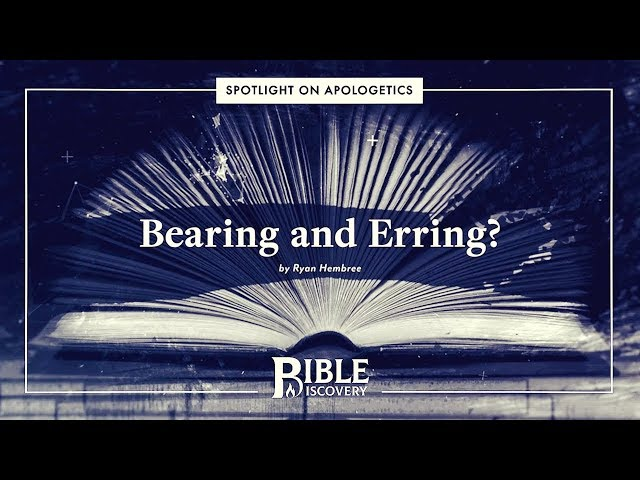 Does Paul Contradict Himself? | Spotlight on Apologetics | Bearing and Erring?