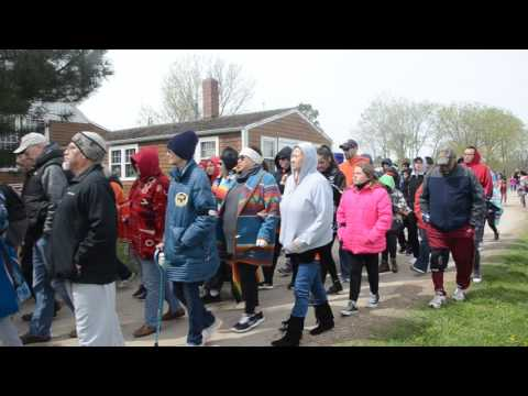 Ponca Remembrance Walk Begins in Niobrara