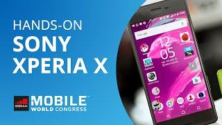 Sony Xperia X, X Performance e XA [Hands-on | MWC 2016]