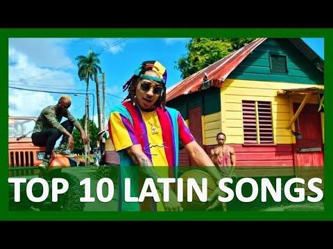 TOP 10 LATIN SONGS  (DECEMBER  30, 2017)