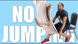Bed Sheet Workout #3: Lose Weight When Injured Without Standing Up