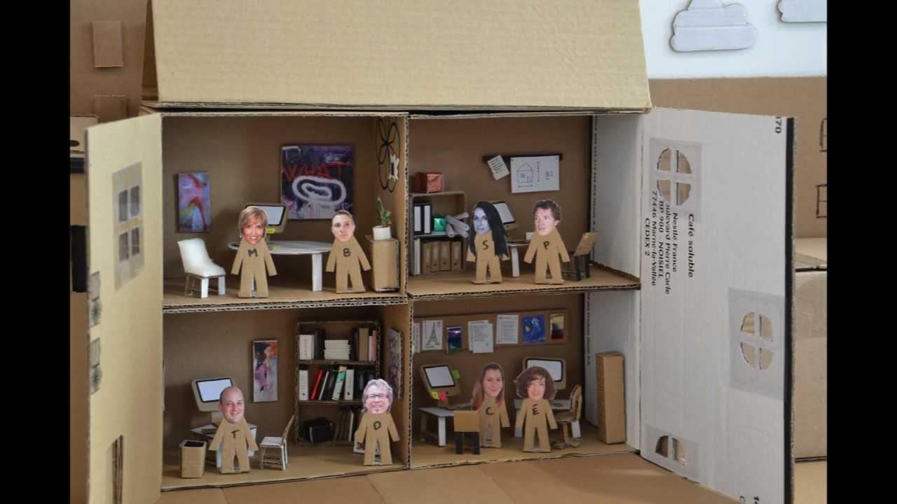 Bricolage maison en carton construire une cabane en - Petit bricolage maison ...