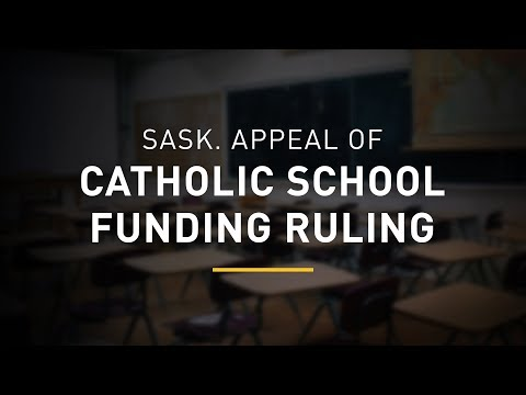 Saskatchewan's appeal to fund non-Catholic students in Catholic schools