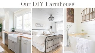 Our DIY Farmhouse Renovation - 3 1/2 Years Into Our First Fixer Upper