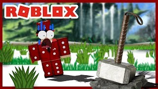 ROBLOX INDONESiA | The APPEARANCE Of The HAMMER THOR In ROBLOX? 😱