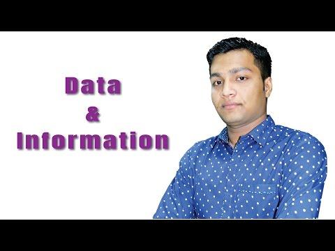 Data (উপাত্ত ) & Information (তথ্য) | ICT | Mizanur Rahman Riyadh