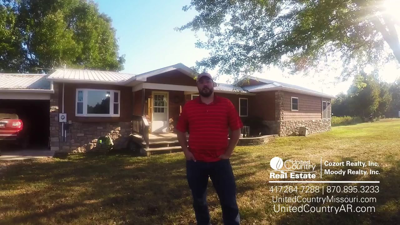 House For Sale In Mammoth Spring Arkansas Youtube