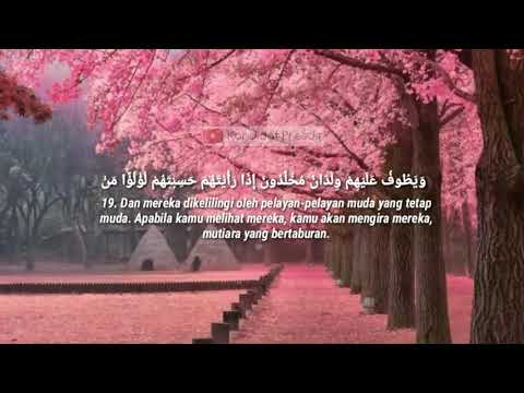 Download Surah AL-INSAN_amazing Qur'an voice Hasina from Nigeria