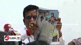 Kalaipuli S Thanu  at Lingaa Film Issue Press Meet
