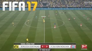 FIFA 17 GAMEPLAY!! - DORTMUND vs BAYERN - GAMEPLAY & TRAILER REACTION & ANALYSIS!!