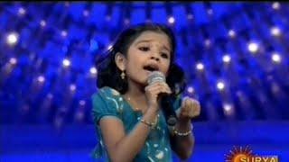 Sreya Jayadeep karmukil varnante chundil Surya singer final performance
