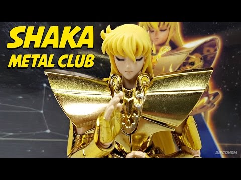 Metal Club Shaka de Virgem Cloth Myth EX Review BR / DiegoHDM