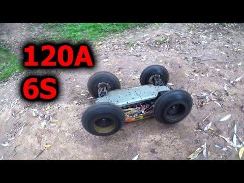 ZD Racing Pirates 2 9116 3S Vs. 6S Speed Test CZ