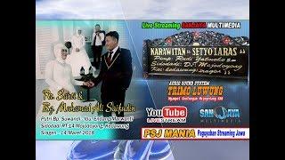 Download Mp3 Live Streaming Sanjaya Multimedia//karawitan Setyo Laras//trimo Luwung Sound// L