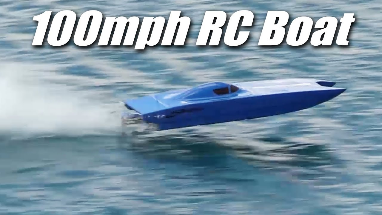 100mph RC Boat - Dual 12s Brushless Motors
