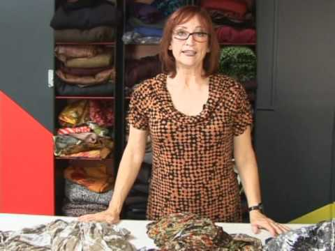 Sandra Betzina For Christine Jonson Fabrics Youtube