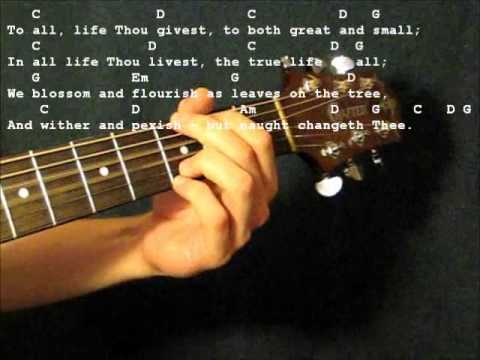 Immortal Invisible chords by Chris Mcclarney - Worship Chords
