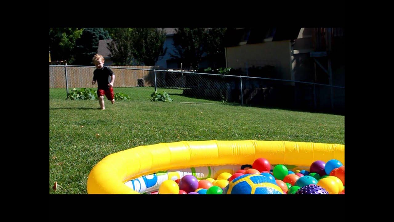 Swimming Ball Pit Pool Youtube