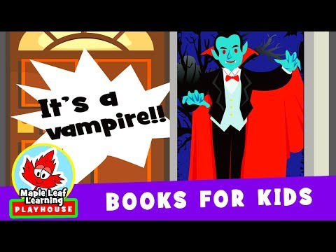 """""""Who's Knocking at the Door?"""" Halloween Picture Book for Kids 