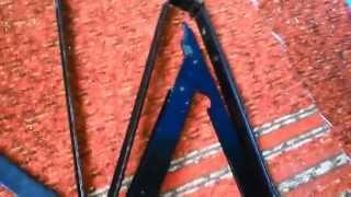 Как сделать пуфик складной своими руками на балкон (ну либо ещё куда нибудь)