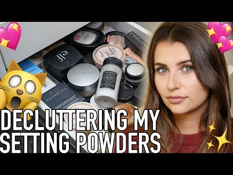 Makeup Declutter - Loose & Pressed Setting Powders (Cruelty Free & Vegan!) - Logical Harmony