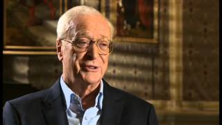 Michael Caine hints at retirement - Newsnight