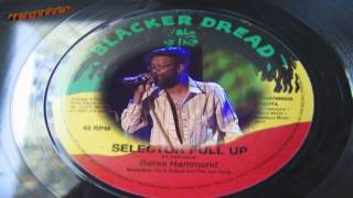 NEW HOT 2011 Beres Hammond - Selector Pull Up / Rubber Dub Mix (Blacker Dread) UK 7""