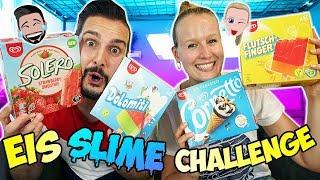 EIS SLIME CHALLENGE Lieber Eis essen oder Schleim mischen? Wählen Kathi & Kaan das richtige Eis!