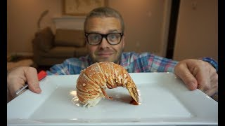 How NOT to boil lobster tails