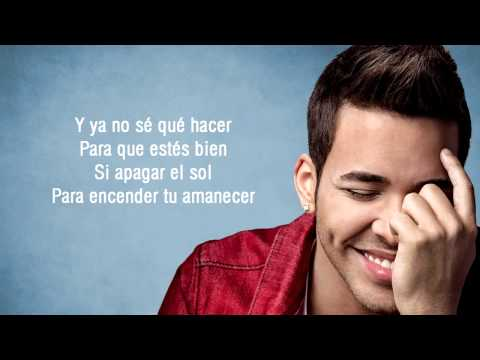Prince Royce  Darte un Beso Lyrics HD