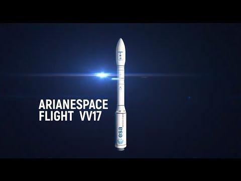 Arianespace Vol VV17 - SEOSAT-Ingenio et Taranis (FR)