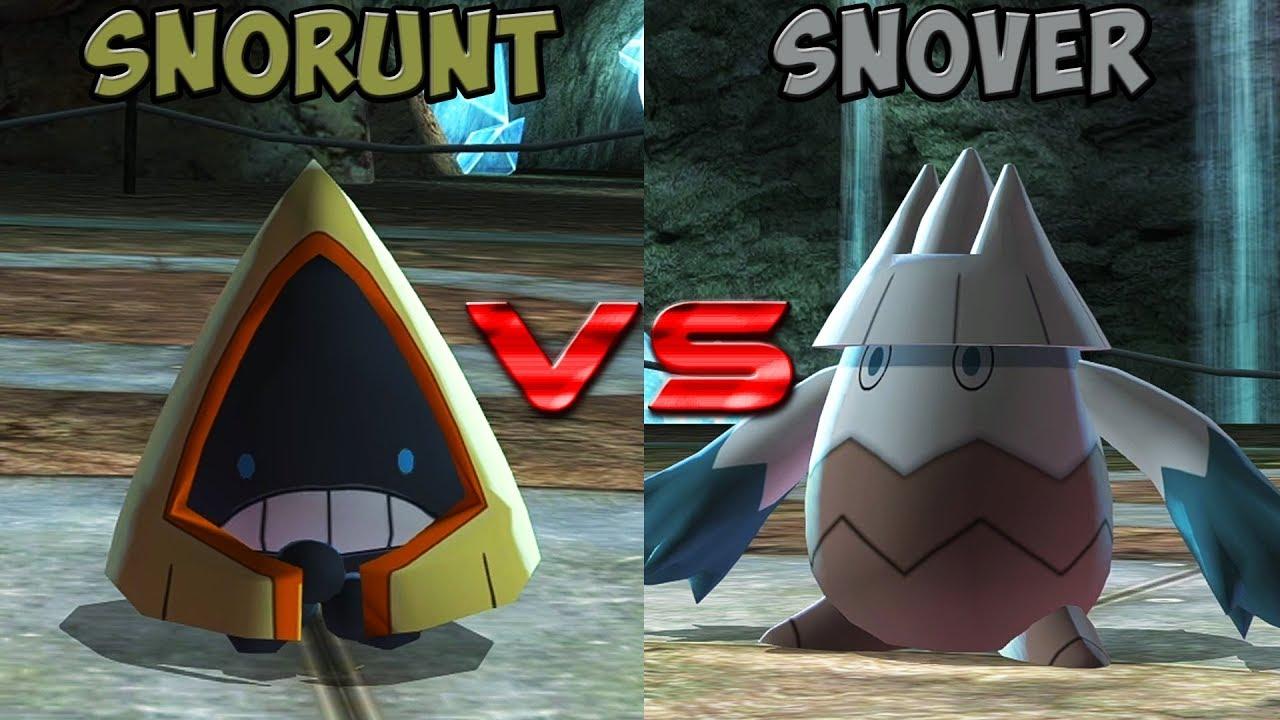 Download Pokemon battle revolution - Snorunt vs Snover
