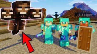 ДОБЫЛИ ГОЛОВЫ СКЕЛЕТОВ И УБИЛИ БОССА ИССУШИТЕЛЯ | Minecraft ВЫЖИВАНИЕ #48