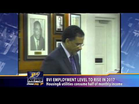 BVI Employment Level To Rise In 2017