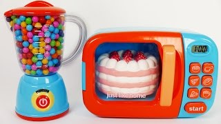 Strawberry Cake Play Doh Microwave Learn Colors for Children