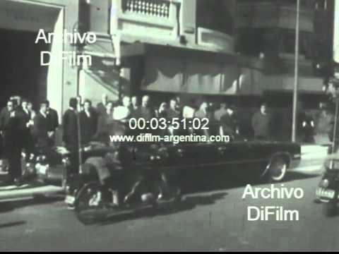 DiFilm - Nelson Rockefeller visita Buenos Aires 1969