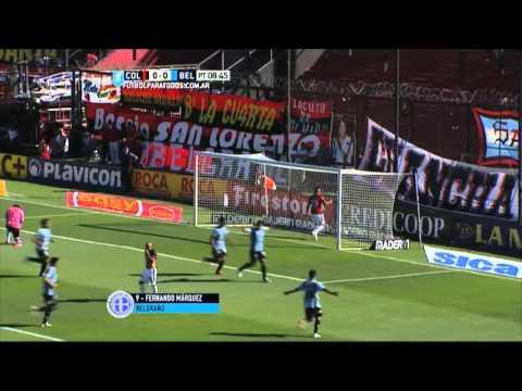 Belgrano pegó primero y define en casa el pasaje a la copa