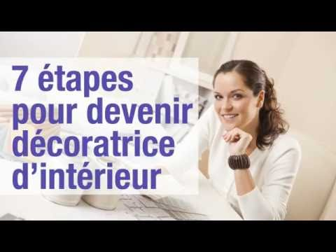 7 tapes pour devenir d coratrice d 39 int rieur youtube for Devenir decorateur interieur