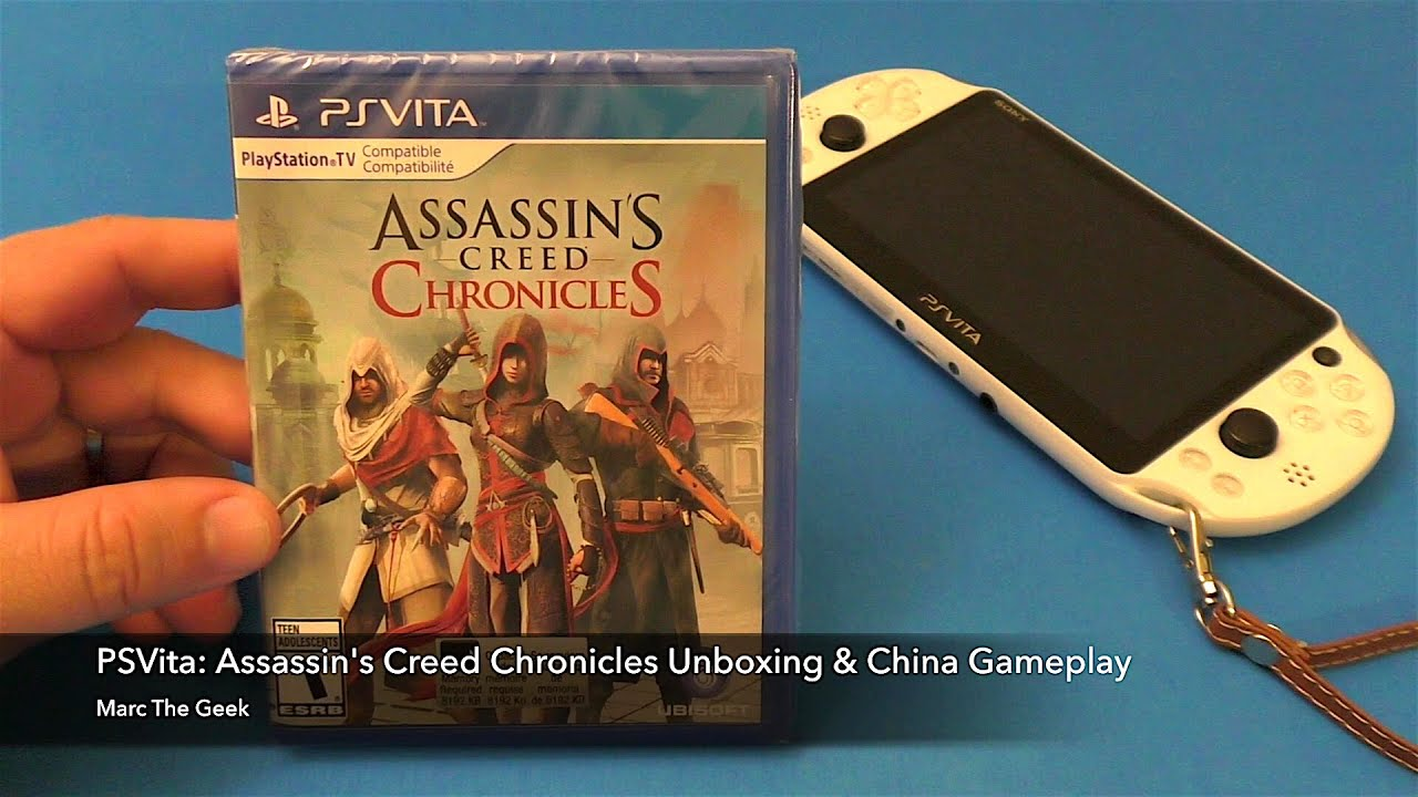 Psvita Assassin S Creed Chronicles Unboxing China Gameplay