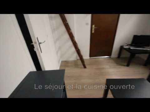 Beau T1 en mezzanine - Plein centre de Lille Bvd de la liberté - Réf WAY1