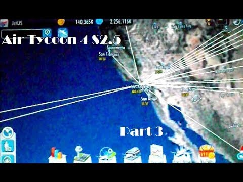 Air Tycoon 4   Series 2.5 - Further Route Expansion - Part 3