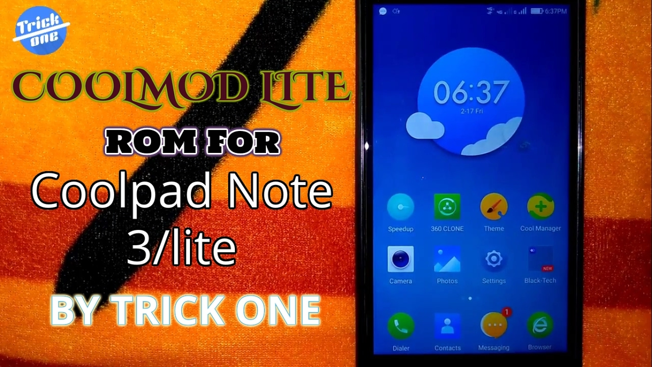 Coolmod ROM for coolpad note 3/lite !!installation!! and quick review