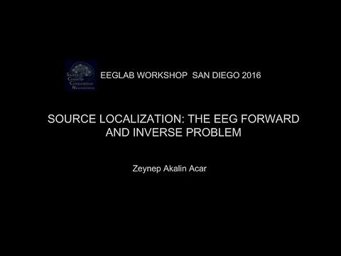 EEGLAB Workshop San Diego 2016:Source localization: The EEG forward and inverse problem