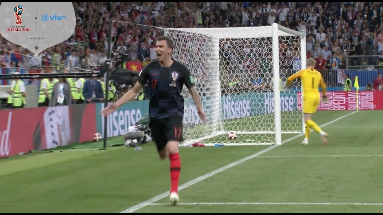 2018 世界盃【克羅地亞 vs英格蘭】 12/7 準決賽賽事精華