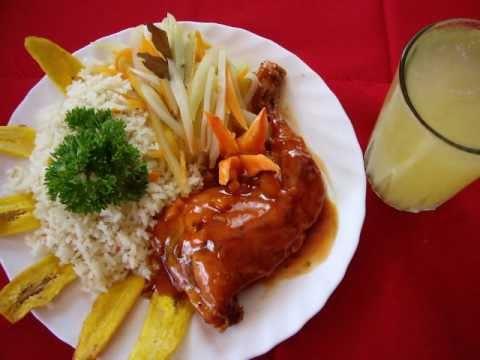 Comidas tipicas banquetes nicaragua youtube for Platos para