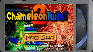 Chameleon Twist 2 :: Nintendo 64 Gameplay (Real Hardware / Ultra HDMI / 1080p) - VIDEO GAME B-ROLL